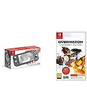 Nintendo Switch Lite - Grey + Overwatch Legendary Edition