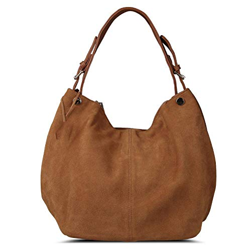 Women Leather Bag Design Leisure Large Shoulder Bags Shopping Casual,Yewllow Brown ()