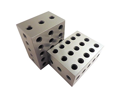 2-3-4 Blocks Matched Pair (2 each), Hardened Steel RC 55-...