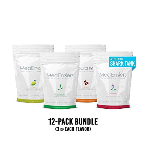 MealEnders Signaling Lozenges — Control Appetite and Cravings, Stop Overeating, and Boost Your Diet Weight Loss Program, 25-Count Bag (Pack of 12) (Moch/Cit/Cinn/Choc. Mint) by MealEnders (Image #8)