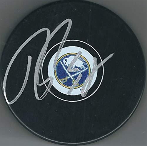 Autographed Rasmus Ristolainen Buffalo Sabres Hockey Puck