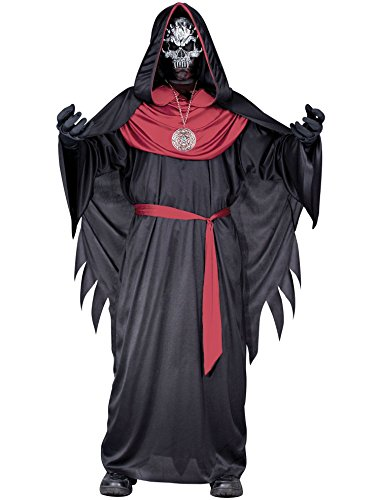 Child Emperor Of Evil Costume (Totally Ghoul Emperor of Evil Costume, Boys Size Large, ages 6-10)