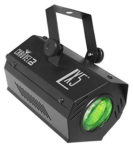 CHAUVET DJ LX-5 Moonflower Effect LED Party Light w/Selectable Sound or Automatic - Lighting Moonflower Led