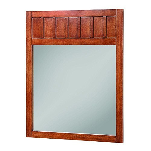 Foremost KNCM2834 Knoxville Poplar Framed Vanity Mirror, Nutmeg by Your Other Warehouse ()