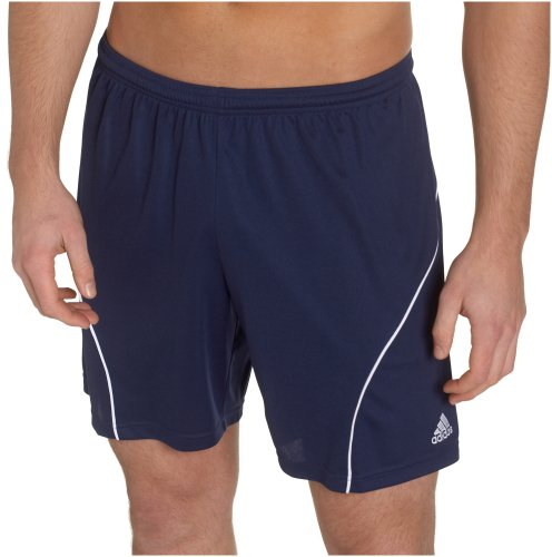 - adidas Men's Striker Short, New Navy/White, X-Large