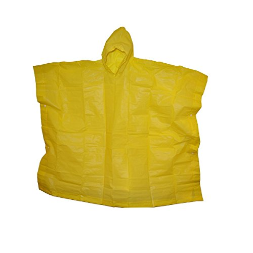 The Weather Station Children's Emergency Rain Poncho with Snaps, 45 x 72 inches ()