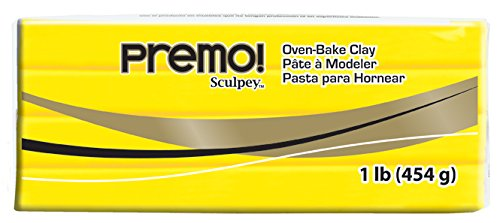 (Sculpey Premo Art Clay, Cadmium Yellow Hue)