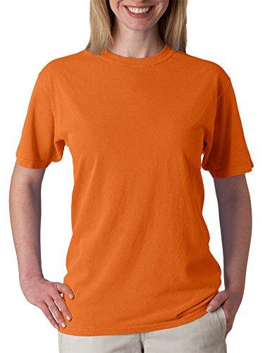(Chouinard Men's Ring-Spun Garment-Dye Bottom Hem T-Shirt, Burnt Orange, 3XL)