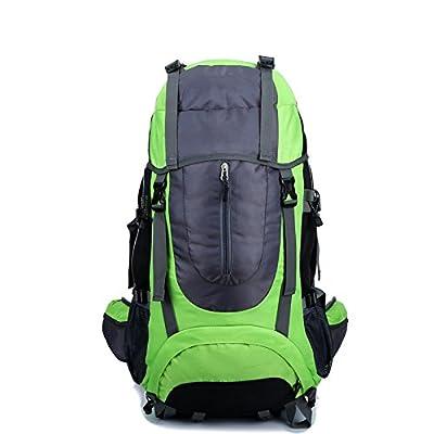 Sac à dos durable- Sac d'alpinisme pratique sac à dos de sport en plein air hydrofuge Sac de voyage multifonctionnel sac à dos de grande capacité -Multi-couleur en option