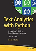 Text Analytics with Python, 2nd Edition Front Cover