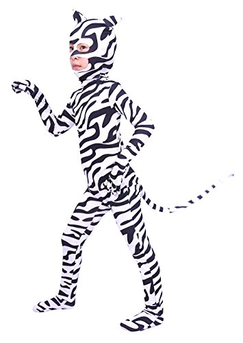 Sheface Kids Zebra Halloween Costumes (Large, P04)