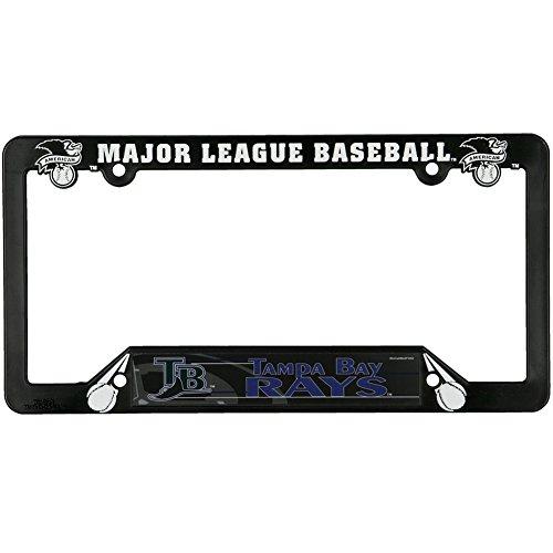 Old Glory Tampa Bay Devil Rays - Logo License Plate Frame