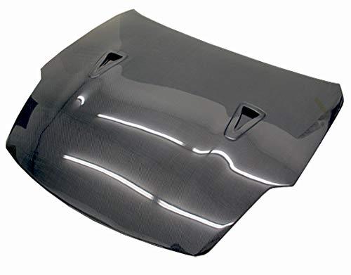 VIS Racing (VIS-REU-702) Black Carbon Fiber Hood R35 Style for Nissan 350Z 2DR 03-06 ()