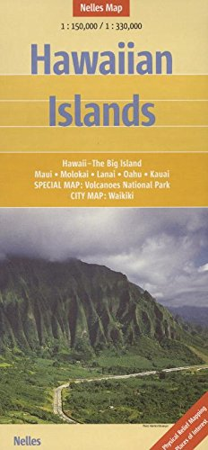 Hawaiian Islands: 1:150.000 / 1:330.000 (Nelles Map)