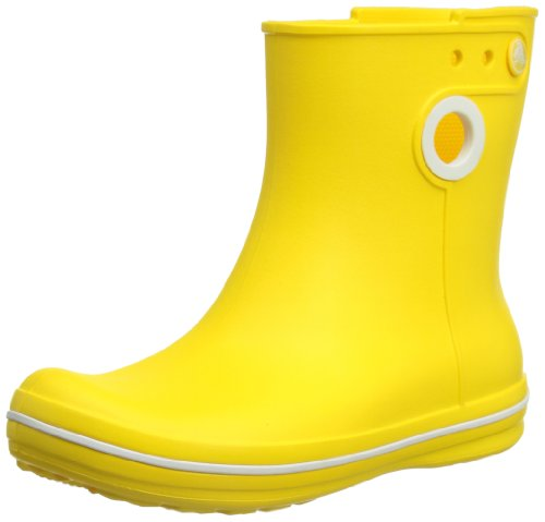 Crocs Jaunt Shorty Boot. One of The Lightest Rain Boots Around. Yellow