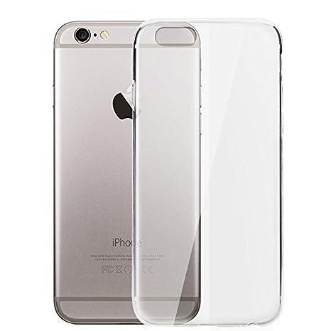 ELECTRÓNICA REY Funda Carcasa Gel Transparente para iPhone 6 ...