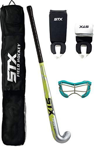 STX Field Hockey Junior Starter Pack, with 2See-S Goggles, 36'