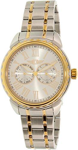 Invicta Men's 89052-002 Silver Stainless-Steel Quartz Watch