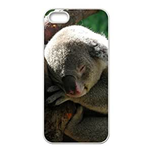 Customized case Of Koala Hard Case for iPhone 5,5S