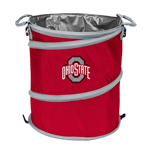 NCAA Ohio State Buckeyes Trash Can Cooler - Beverage State Ohio Buckeyes