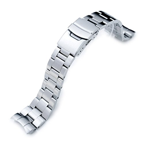 22mm Super Oyster 316L Stainless Steel Watch Bracelet for Orient Mako II & Ray II, Brushed by Orient Replacement by MiLTAT (Image #6)