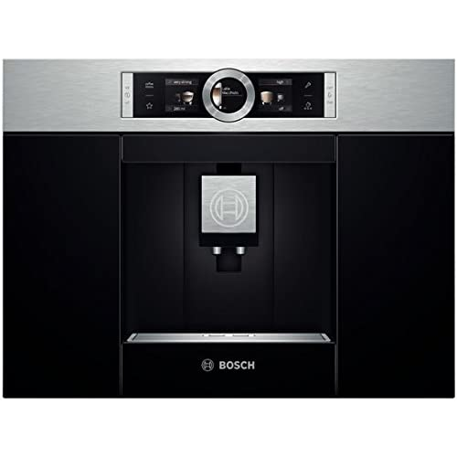 Bosch cTL636ES1 Fitted Coffee machine-Stainless Steel