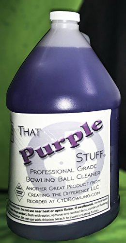 That Purple Stuff Bowling Ball Cleaner | Gallon | Free Foam Dispenser by Creating the Difference