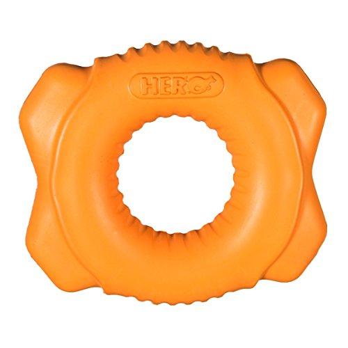 HERO Retriever Series PlayTime Durable Foam Floating Widget, Large, Green Dog Toy (Series Floating)