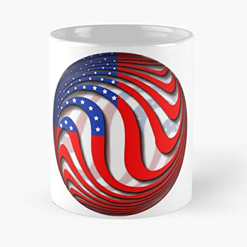 (4Th Of July Americans Ball Depressed Introvert Depression Nihilist Nihilism Death Tears Sadness Life Funny Realist Mug - Best Independence Day Gift)
