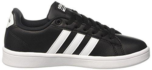 Adidas Damen Cloudfoam Voordeel Sneakers Schwarz (negro / (negbas / Ftwbla / Negbas) 000)