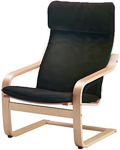 Beige Ikea Poang Cushion and Cover, Green Chair not included Red Black