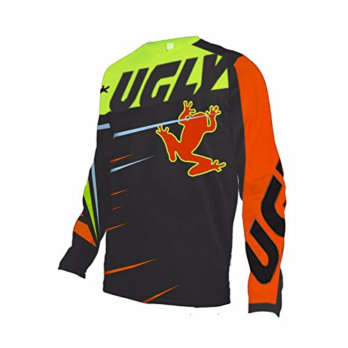 Uglyfrog #02 2017 New Mens BMX Bike Jersey Long Sleeve Men Downhill Montain Bike Top