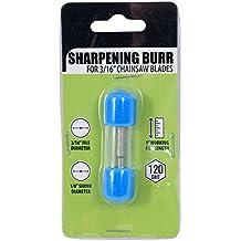 "3/16"" File Chain Saw Blade Diamond Sharpening Burr Shank 120 Grit"