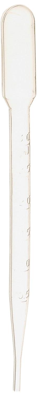 3ML Plastic Test Tubes Liquid Drop Eye Droppers Pasteur Pipette 100 Pcs sourcingmap a13050900ux0811