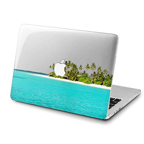 Lex Altern MacBook Beautiful Green Palms Pro 15 inches Case Present Mac Air 13 2018 A1707 A1706 A1989 Retina Beach Ocean 12 Cover Hard Shell 11 Apple 2017 Clear 2016 -