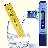 Digital PH Tester Meter Pen + TDS Tester Aquarium Pool Hydroponic Water Monitor 0-9999 PPM