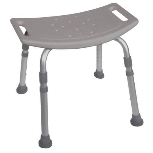 Deluxe Aluminum Bath Bench without Back