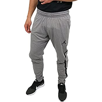 72ad3216fa3 Nike Mens Jordan 23 Alpha Dry-Fit Athletic Fit Training Pants Carbon  Heather/Black