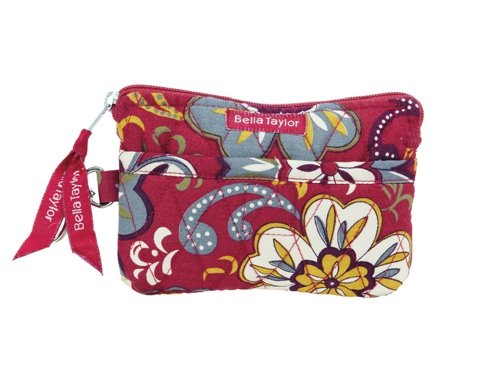 Sangria Quilted Cotton Gadget Pouch ()