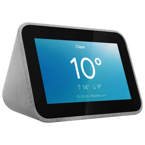 Lenovo Smart Clock with The Google Assistant Now $39.00 (Was $49)