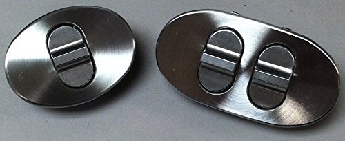 (Triple Oval Paddle,Custom Billet Power Window Switch for Your Hot Rod,Street Rod or Muscle car)