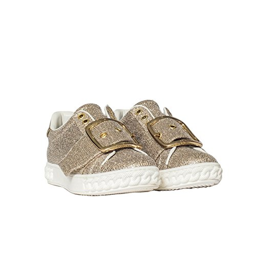 Casadei Women's 2X955K0201FATA911 Gold Glitter Sneakers clearance fashion Style rRTXL