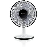 Kenmore 12 Table Fan, Black Household, White