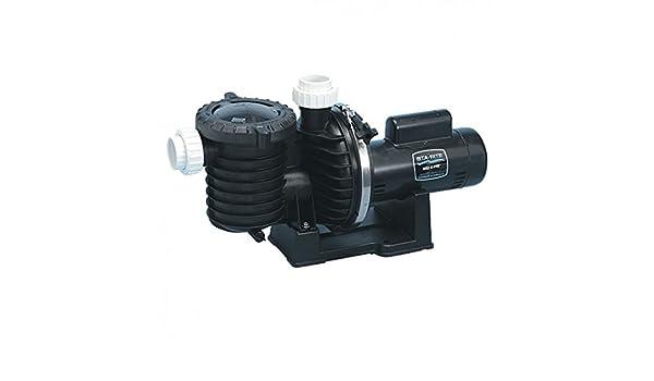 Pentair Sta-Rite p6ra6e-205l eficiencia Sola Velocidad hasta estándar MAX-E-Pro Piscina y SPA Bomba, 1 HP, 115/230: Amazon.es: Jardín
