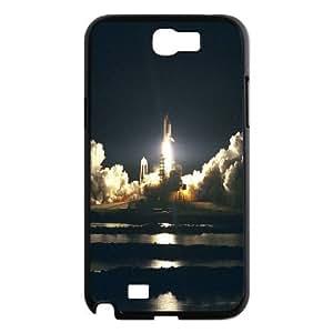 Sexyass Space Shuttle Samsung Galaxy Note 2 Cases Space Shuttle Launch, Space Shuttle [Black]