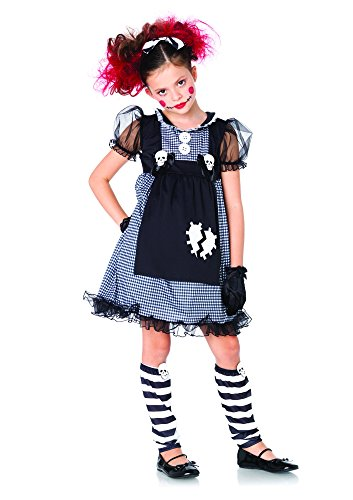Leg Avenue Children's Dark Dollie Costume (Creepy Baby Doll Costume)