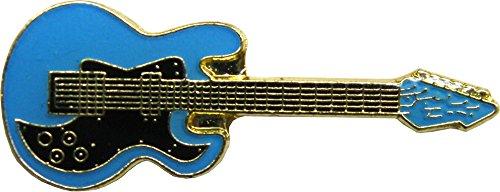 Blue Electric Guitar - Enamel Pin
