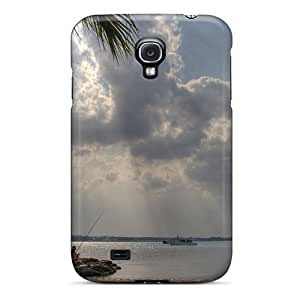 Top Quality Case Cover For Galaxy S4 Case With Nice Fishing In Porto Cesareo Italy Appearance