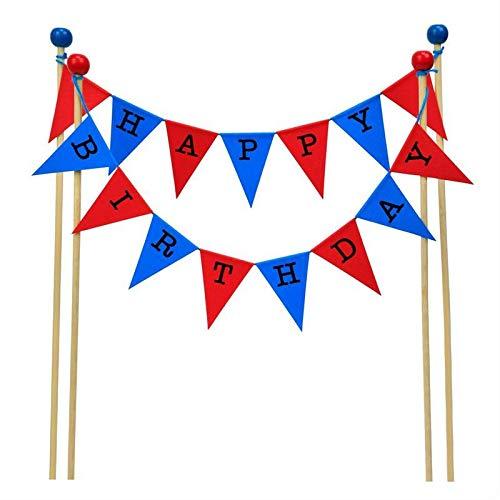 Banderines increíbles, decoración para tarta de feliz ...
