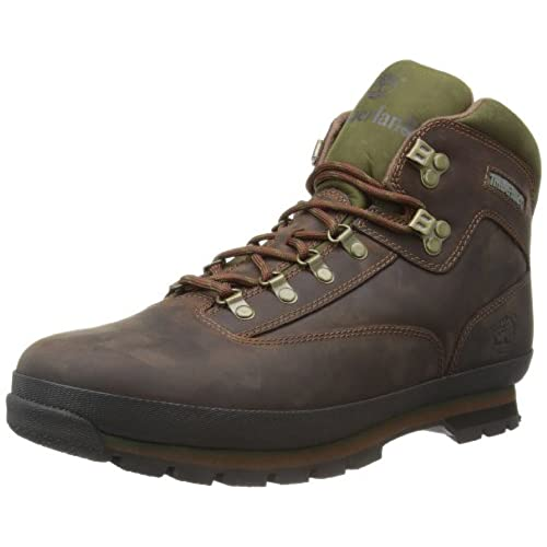 Timberland Men's Euro Hiker Boot,Brown,10 M